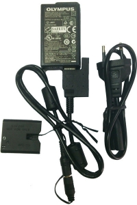 OLYMPUS F-3AC USB-AC adapter+CB-DC1&BPC13 Power cord блок питания+шнур питания